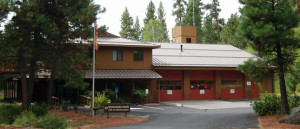 Black Butte Ranch fire station