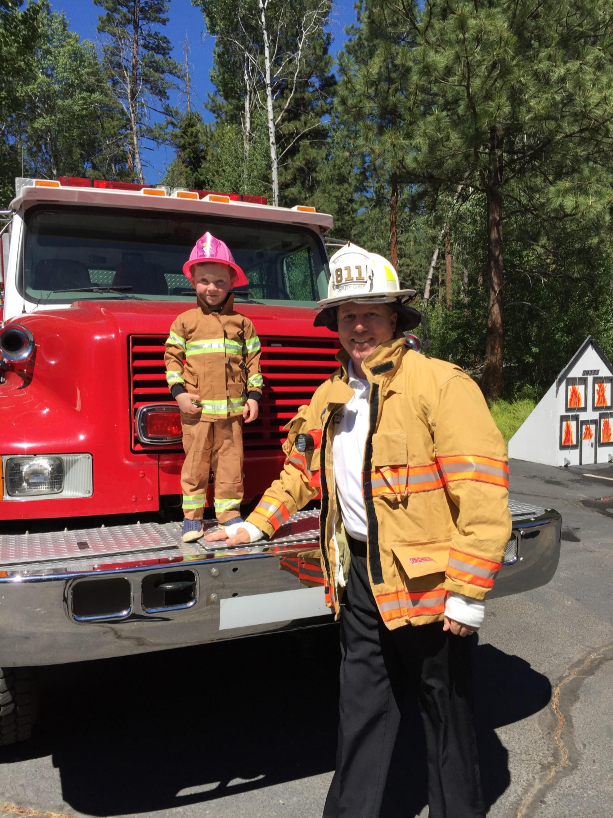 Station Tours Black Butte Fire Department